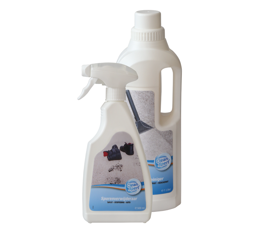 Waarom CleanXpert®?   Alleen CleanXpert® heeft geïntegreerde vlekbescherming. Zo blijven uw tapijten en textiel langer schoon.